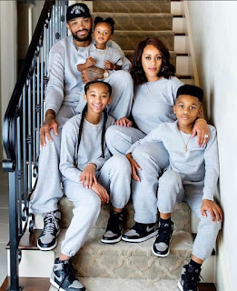 PJ Tucker With His Family