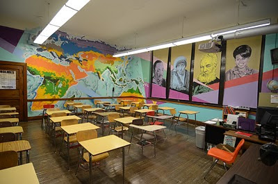 Teaching In A Fishbowl Classroom Design Wins