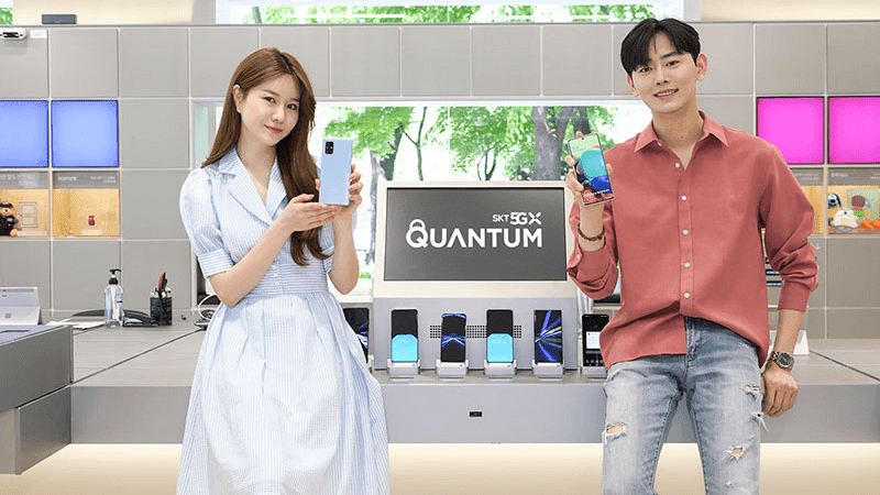 Samsung Galaxy A Quantum now official, the first 5G smartphone with Quantum security chip