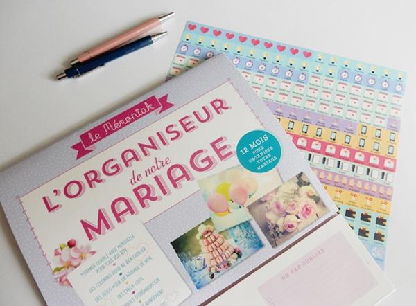 Mon organisation pour préparer mon mariage