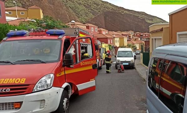 Se incendia una cocina en una vivienda en el Valle de La Luna
