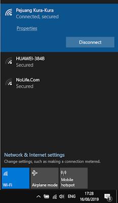Melihat Password Wifi yang Tersimpan di Komputer