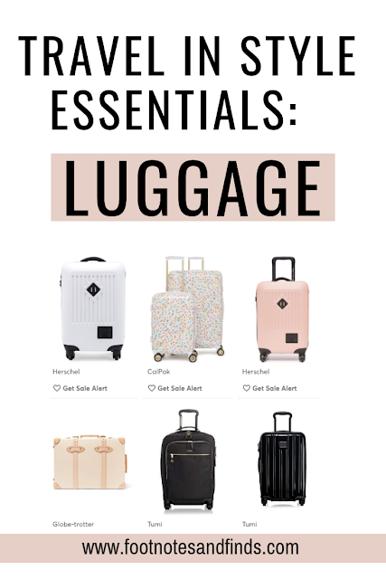 travel in style luggage picks