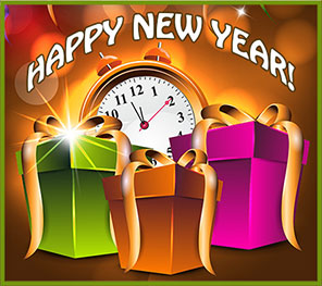 Most Popular Happy New Year Clipart 2018 Images With Difficult Designs art