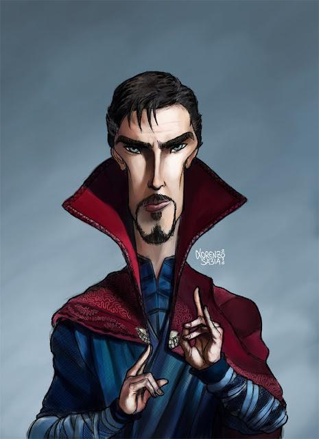Doctor Strange by Lorenzo Sabia