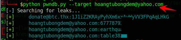 Hướng dẫn xem password của Email đã bị lộ trên internet