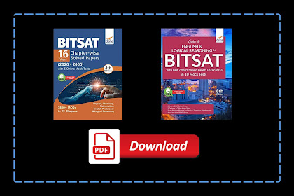 [PDF] Disha BITSAT Guide and 16 Years Chapterwise Solved Papers with Mock Test | Download