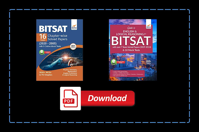 [PDF] Disha BITSAT Guide and 16 Years Chapterwise Solved Papers with Mock Test   Download