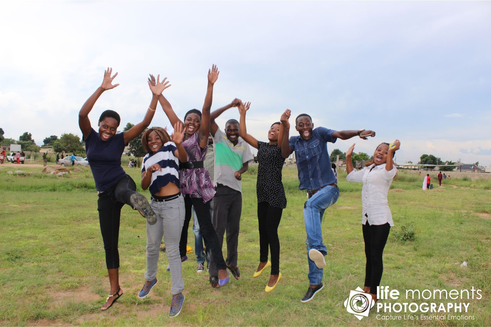 Glory Ministries Youth at a youth camp.