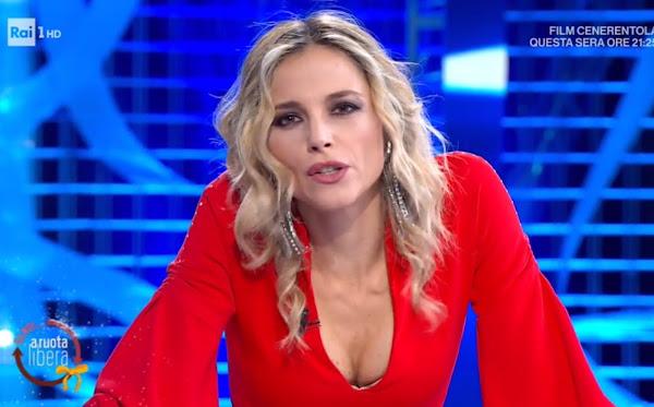 Francesca Fialdini da noi a ruota libera décolleté 27 dicembre