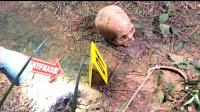Identitas kerangka manusia yang ditemukan masih dalam penyelidikan, diduga Mr R.S