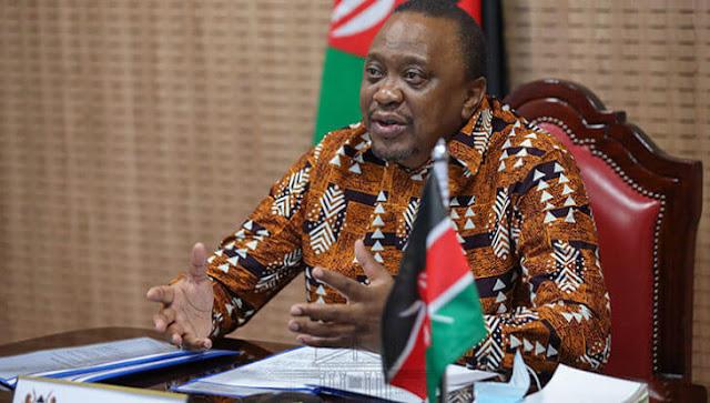 President Uhuru Kenyatta attends ISP-Africa Webinar at State House. PHOTO | PSCU