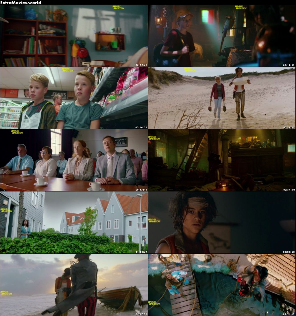 Pirates Down the Street 2020 Dual Audio Hindi [Unofficial Dubbed] 720p BluRay