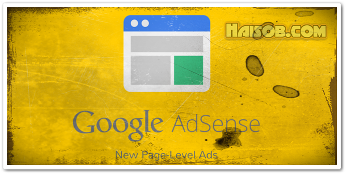 Cara memasang iklan Adsense Page Level Ads di Blogspot Blogger