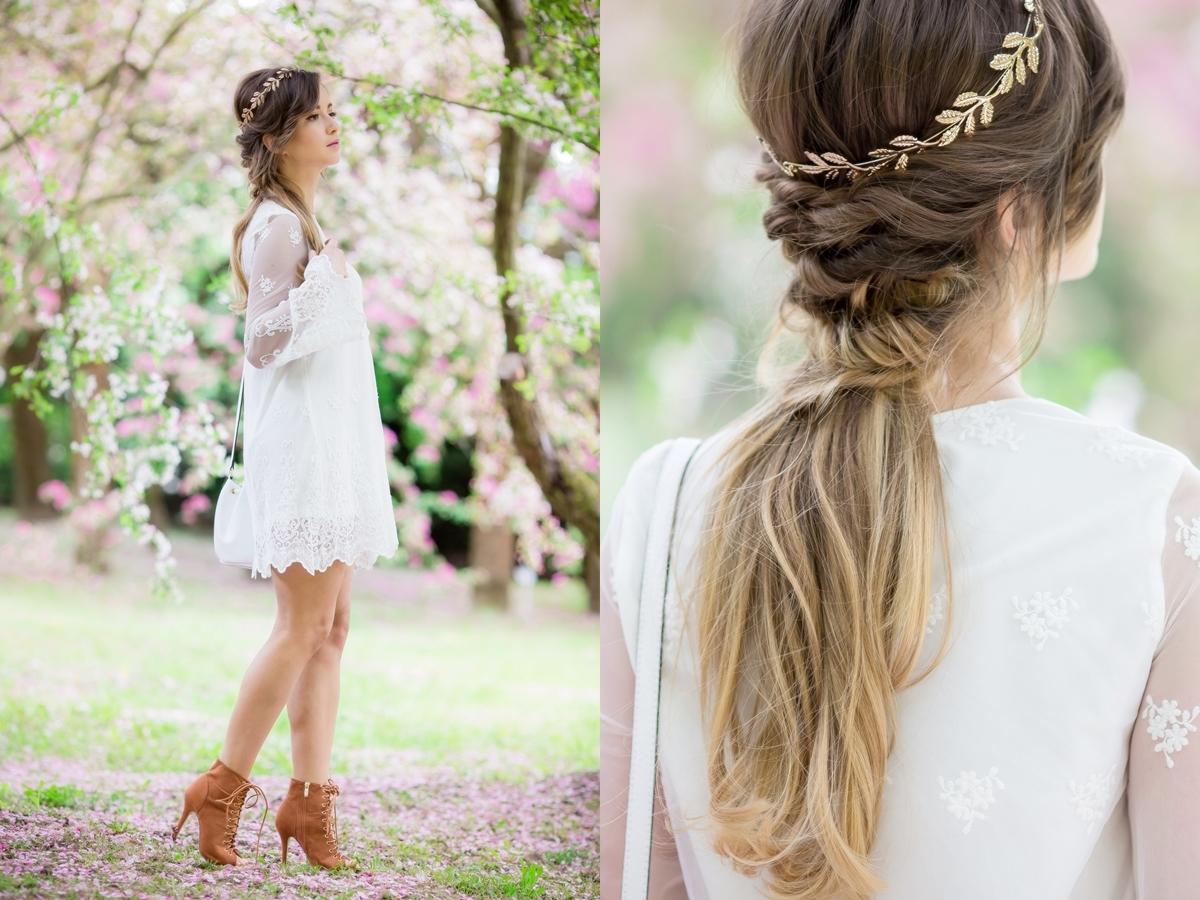 Fryzura Na Wesele I Biała Koronkowa Sukienka Wedding Style