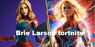 Brie Larson fortnite and Tessa Thompson team up to play Fortnite