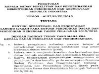 Download Juknis Penulisan Ijazah 2016