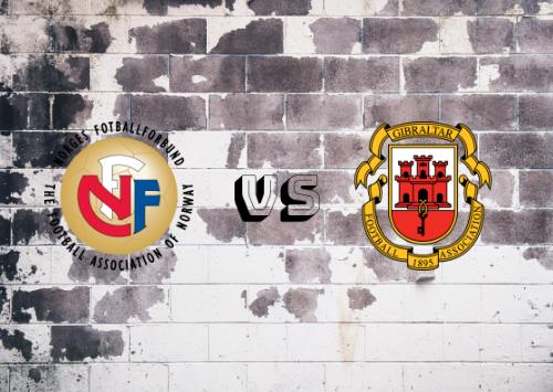 Noruega vs Gibraltar  Resumen