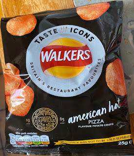 Walkers Taste Icons - Pizza Express American Hot Pizza Flavour