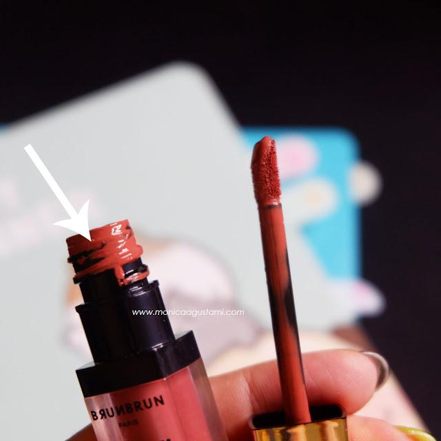 review brunbrun lip cream velvet