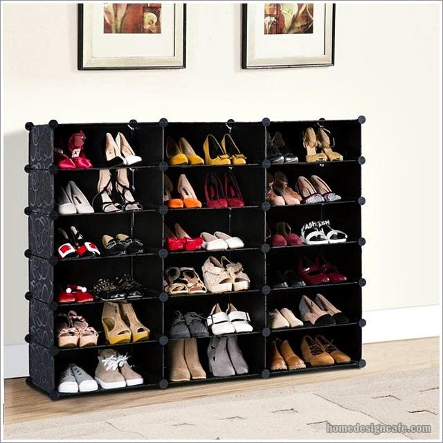 DIY Shoe Rack Home Decor