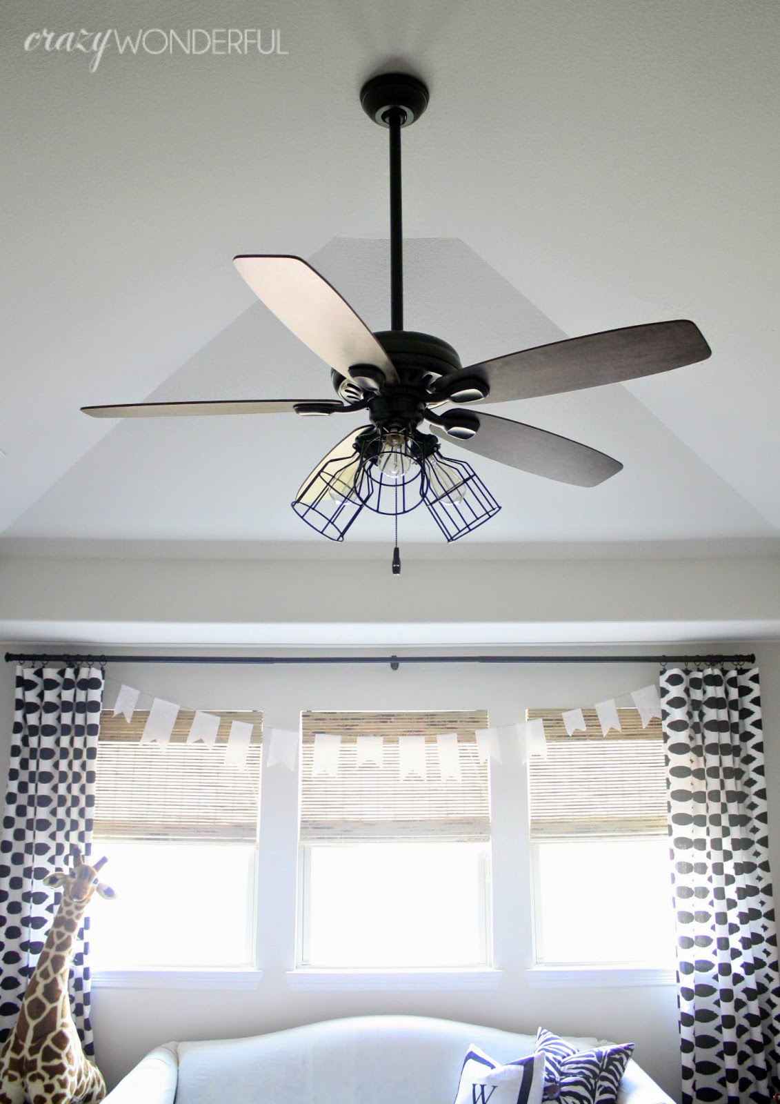 Diy cage light ceiling fan crazy wonderful - Pictures of ceiling fans ...