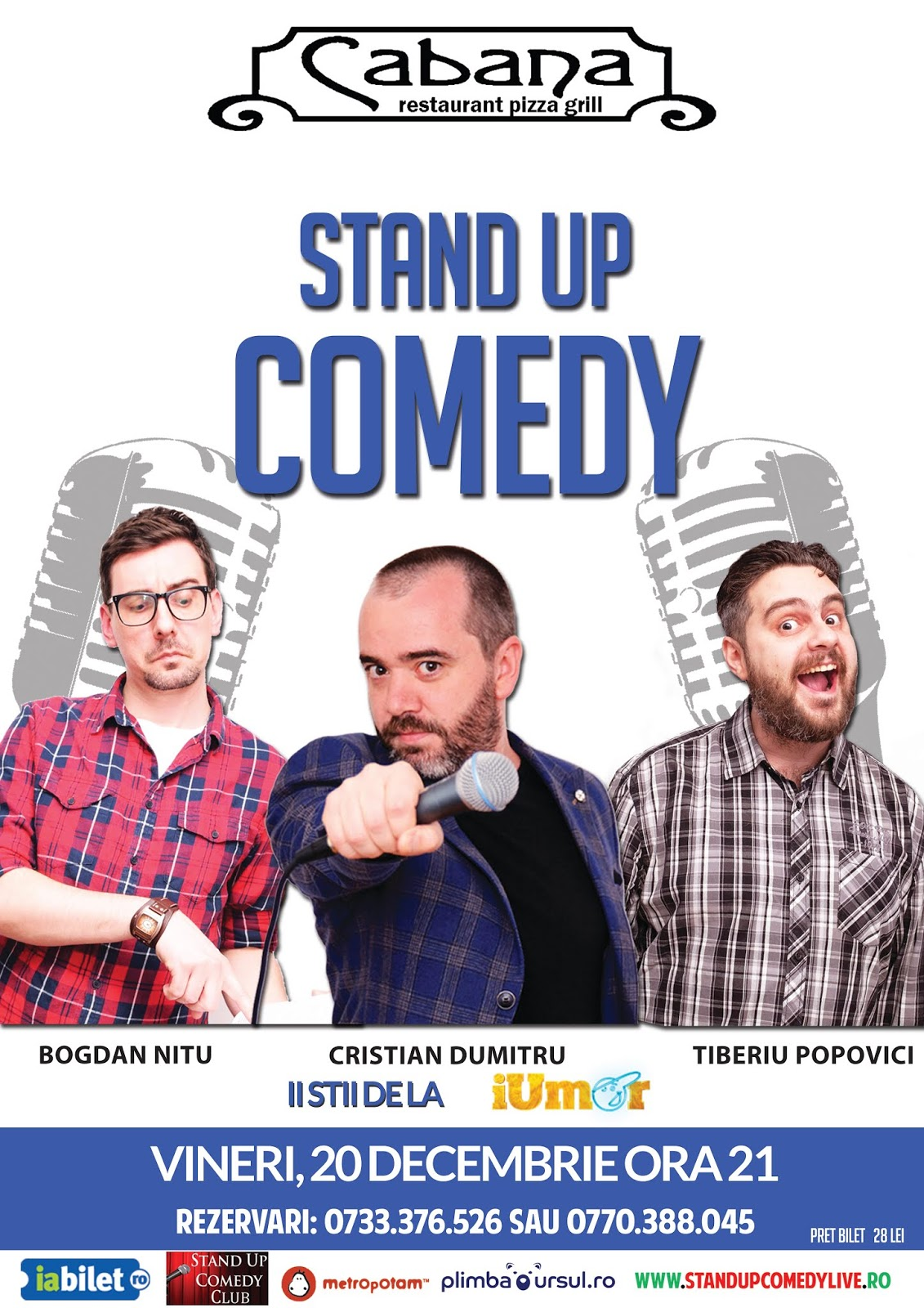 Stand-Up Comedy Spectacol Bucuresti azi