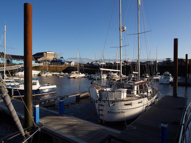 Photo of Maryport Marina on Tuesday