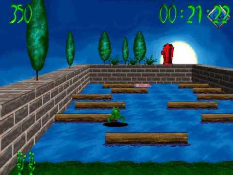 تحميل لعبة الضفدعة القديمة 3d frog frenzy