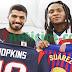Luis Suárez y Hopkins comparten el emparrillado