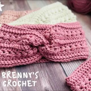 Diadema Turbante a Crochet