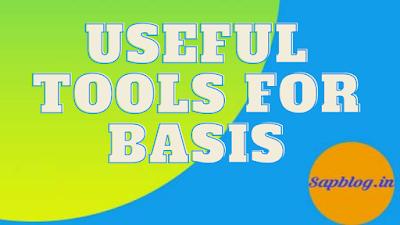 SAP BASIS Tools