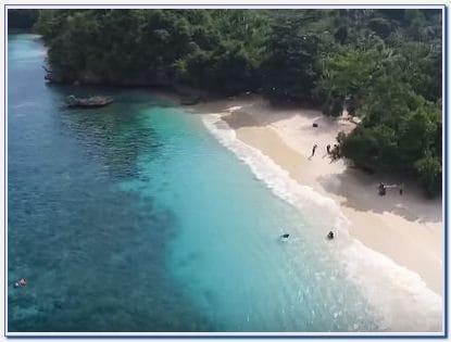 Cara booking pantai 3 warna Malang