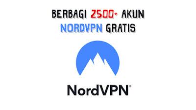 Kumpulan Akun NordVPN Gratis