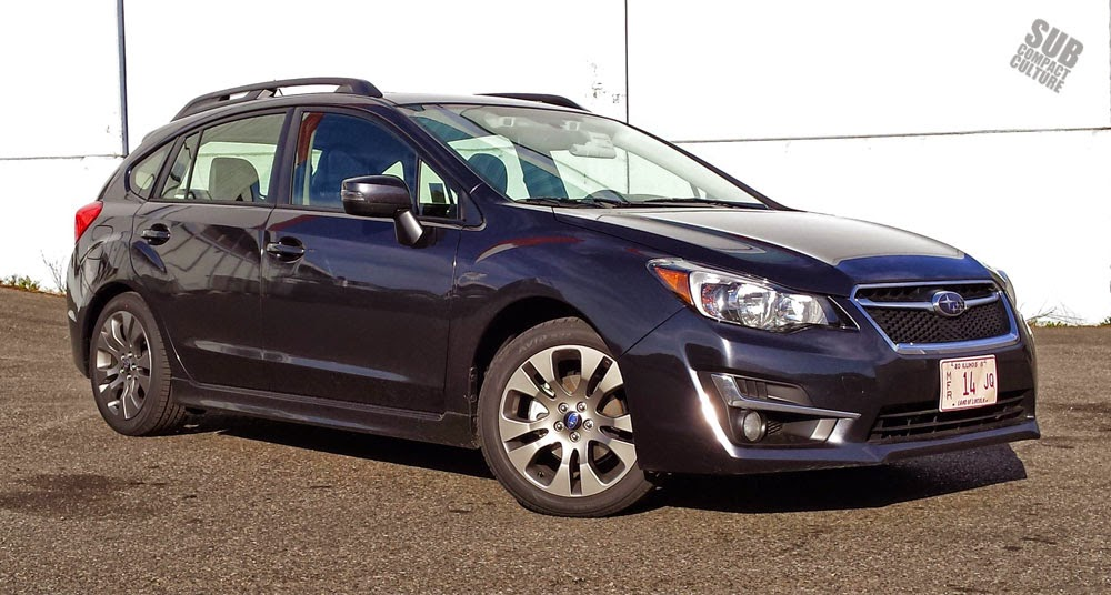 2015 Subaru Impreza Sport Limited Front