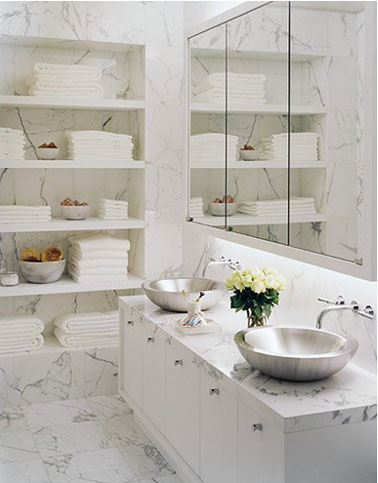 Pon linda tu casa lindos cuartos de ba o for Carole kitchen and bath design ma