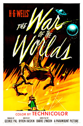 War of the Worlds movie poster, 1953