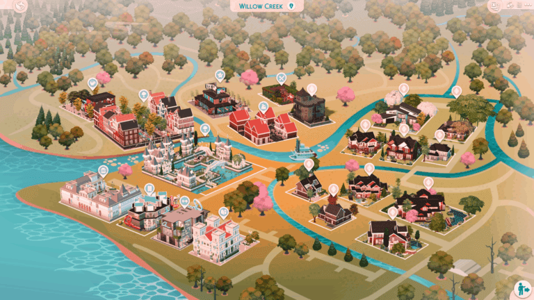 MSQ SIMS: Willow Creek Save File