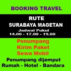 Travel Surabaya magetan