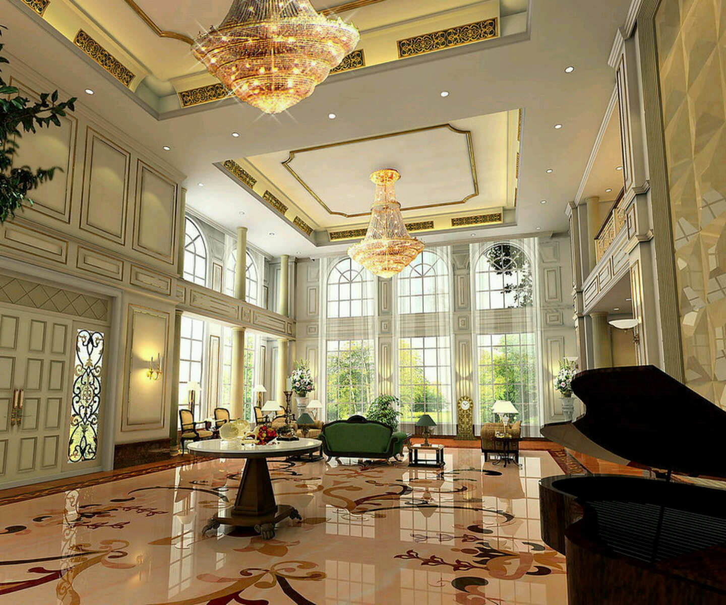 New home designs latest.: Luxury living rooms interior ... on Modern House Ideas Interior  id=79521