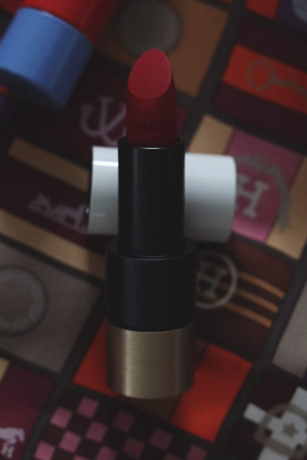 Rouge Hermès Lipstick A quick review aleesha harris vancouver beauty blog