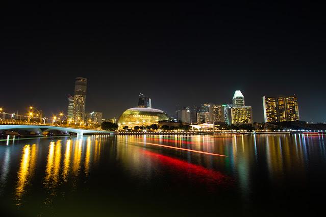 Benjamin Sheares bridge e Durian-Singapore