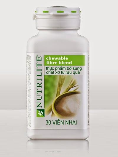 Nutrilite chewable fire blend chất xơ của Amway từ rau củ quả giá rẻ