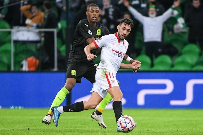 Munir entra en el top 10 de máximos goleadores europeos del Sevilla FC