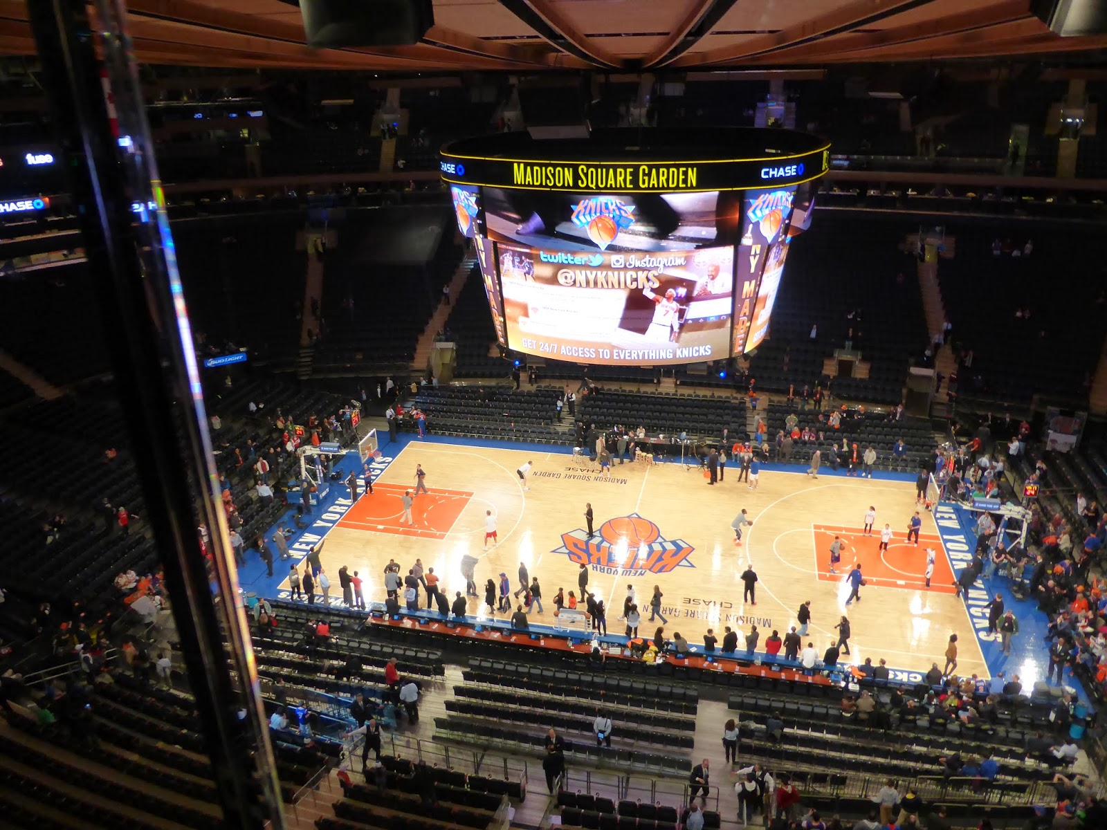 Sports Road Trips Los Angeles Clippers 109 At New York