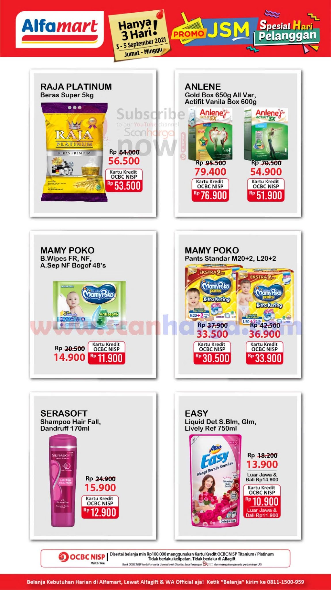 Katalog Promo JSM Alfamart Weekend 3 - 5 September 2021 2