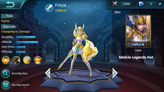 hero freya mobile legends