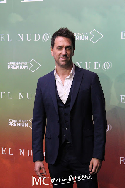Oriol Tarrasón en la presentación de 'El Nudo'