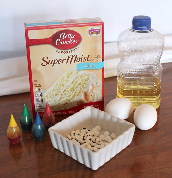 Cake Mix Cookie Ingredients