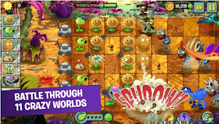 Download Plants vs. Zombies 2 Apk v7.0.1 Mod Coins Gems For Android